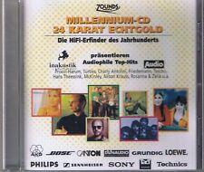 Various Artists Millennium-CD Zounds 24 Karat Gold CD