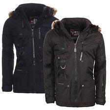 Geographical Norway Warm Lined Men's Chir Alaska Winter Jacket Parka