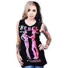 B022 Too Fast Rat Baby Going Postal Rebel Nightclub Punk Rock LGBT Muscle Top