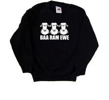 Baa Ram Ewe Funny Kids Sweatshirt