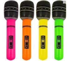 Blow Up Inflatable Microphone Party Disco Dance Karaoke Loot bag Flavor