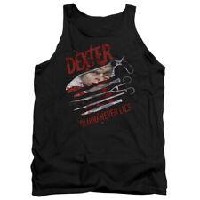 Dexter Blood Never Lies Mens Tank Top Shirt