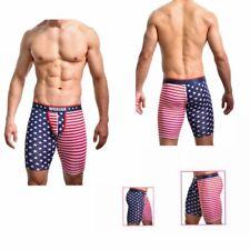 Men's 'Americas Underwear Shorts American Flag USA Stars Half Shorts Boxers