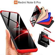 COVER per Xiaomi Redmi Note 6 Pro Fronte Retro 360° ORIGINALE ARMOR CASE RIGIDA