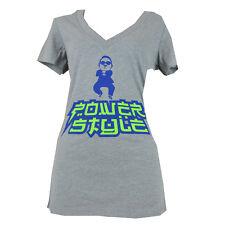 Power Style Psy Gangnam Style Power Fiesta Rivera Maya Women TShirt V-Neck Gray