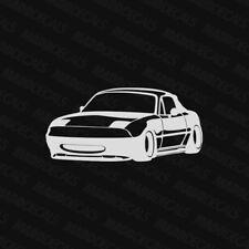 Mazda Miata NA Sticker Decal Silhouette Outline