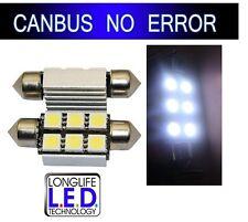 2 Ampoules LED smd Plaque GOLF 4 5 PASSAT polo TOUAREG