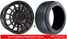 Alloy Wheels & Tyres 8.0x18 Calibre T-Sport Grey + 2554518 Tyres
