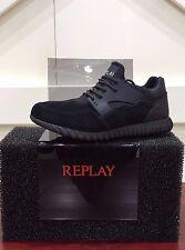 Replay Herrenschuhe Freizeitschuhe Schuhe Shoes Sneaker Wilkes Schwarz