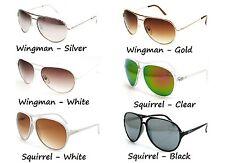 PERV Eyewear - Unisex  Mens Womens Men Women Sunglasses SQUIRREL WINGMAN Aviator