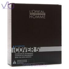 L'OREAL Professionnel Homme Cover 5, Amonia-Free Grey Hair Blending Gel For Men