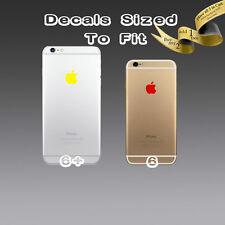 ( 4x ) Apple Logo Sticker Decal Vinyl for iPhone 6 6s 6+s  6+ 6 plus 7 7 plus