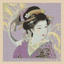 Cross Stitch Chart - Oriental Lady Tsg37.