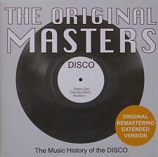 THE ORIGINAL MASTERS DISCO VOL. 1 EXTENDED TRACKS NUOVO NEW MINT COSMIC MECCA DJ