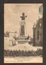 MARINES (95) MENUISERIE EBENISTERIE & MONUMENT de L'AMIRAL PEYRON en 1904