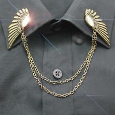 Gift Collar Clip Shirt Brooch Pin Dd Angel wings Women Men Shirt Suit Accessory
