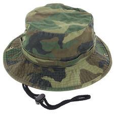 Hombre Jungla Sombrero de Pescador Gorra Algodón Caza Pesca Verano Militar