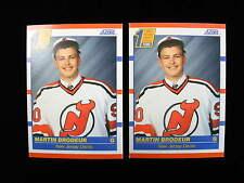 1990 Martin Brodeur rookie card lot   Devils   # 439