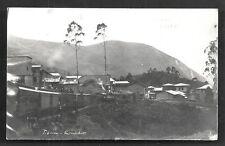 Ecuador Titan photo postcard Train Norona Quito 20s