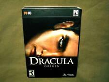 Dracula - Origin. PC CDROM, Game