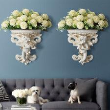 Living Room Wall Hanging Flower Pot Home Decoration Crafts Angel Shape Garden