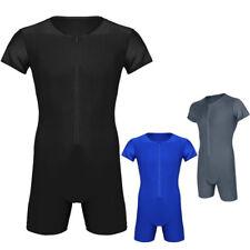 Männer Body Bodysuit Overall Unterhemd Herren Unterwäsche Enger Anzug mit Bein