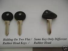 2 1995+  BMW Motorcycle Key Blank Flat  Head