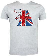 Best of British,  Union Jack Sherlock Holmes T shirt - Choice of size & cols