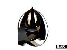 LAMPADA A SOSPENSIONE LAMPADARIO GOCCIA JET NERO Opalflex SLAMP Italy