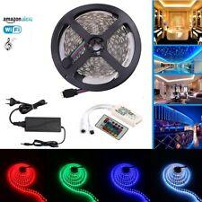 24V 5M 5050SMD 300Leds RGBW LED Streifen Stripes Strip Wifi Kontroller 6A Trafo