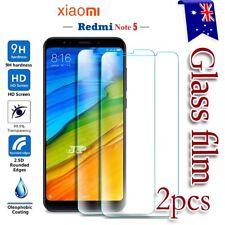 2X Xiaomi Redmi Note 5 Tempered Glass LCD Screen Protector Film Guard