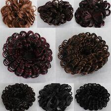 Haarteil Haargummi Haarband Zopfband Kunshaar Haarschmuck Perücke 11 Modelle