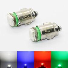 2x BA7S LED 12V weiß rot Tacho Tachobeleuchtung Instrumenten Beleuchtung Sockel