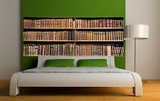 Papier peint tête de lit bibliotheque 3664 Art déco Stickers