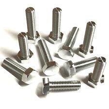 M6 Aluminium Hexagon Setcrews - Set Screws Bolts Hex Head - Anodised Unanodised