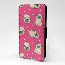 iPod Flip Case Cover 5th 6th Gen Pug Pattern - S3153