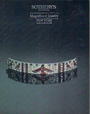 SOTHEBY'S JEWELS Bailey Boivin Cartier Marchak Marina B. Verdura Webb Dali 1988