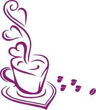 Wandtattoo Kaffee, SS-set,Wandtatoo,SA63 Wandaufkleber