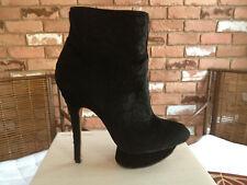 L.A.M.B Lamb Gwen Stefani Noos Women's Designer High Heels Boots Booties Black