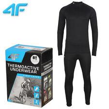 Funzione Uomo di biancheria intima pantaloni + t-shirt skiunterwäsche Outdoor Motorsport