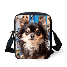 New Dog Shoulder Bag Sling Satchel Messenger Handbag Outdoor Bag Small Purse