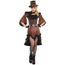Steampunk Halloween Costume Adult Womens Fancy Dress