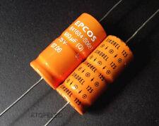 1-4pcs SIEMENS 680uF/75V EPCOS SIKOREL 125℃ LL Axial Hi-Fi Capacitor