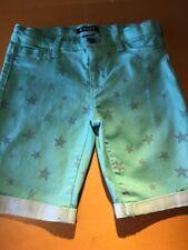 Tractr denim jean shorts 4 12  14 years EUC CHOICE
