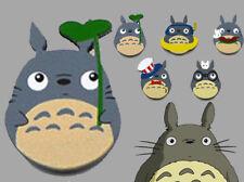 Totoro Handmade Wooden Brooch 5 Designs Anime Kawaii Gift Miyazaki 1pc