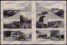 Eisenbahn Bau Transandenbahn Dampflok Schmalspur Valparaiso Buenos Aires 1910!!!