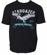 Pegasus T Shirt Born to be free Airborne Stargazer Forces White S-3XL