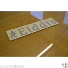 ELDDIS Classic Lion & Name Caravan Sticker Decal Graphic - SINGLE
