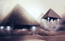 62098 Sunset - Egypt pyramids Wall Print Poster CA