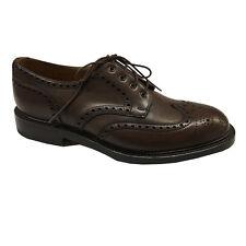 LOTUS OF ENGLAND Zapatos de hombre modelo WINDSOR 100% piel dark crema
